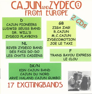 Cajun and Zydeco from Europe